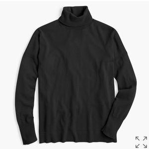 NWT. J. Crew Merino Wool Turtleneck Sweater.